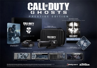 Call Of Duty : Ghosts - Prestige Edition - Xbox cover