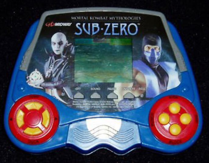Mortal Kombat Mythologies: Sub-Zero - LCD Handheld Game cover
