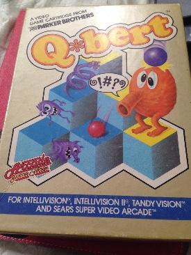 Q*bert - Intellivison cover