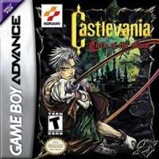 Castlevania Circle of the Moon - Game Boy Advance cover