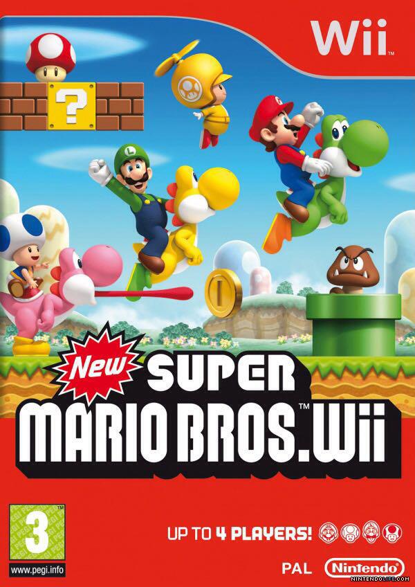 Super Mario Bros. - Switch eShop cover