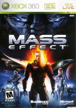 Mass Effect - Xbox 360 cover
