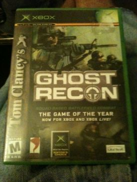 Tom Clancys Ghost Recon - Xbox cover