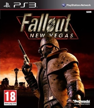 Fallout New Vegas - PS3 cover
