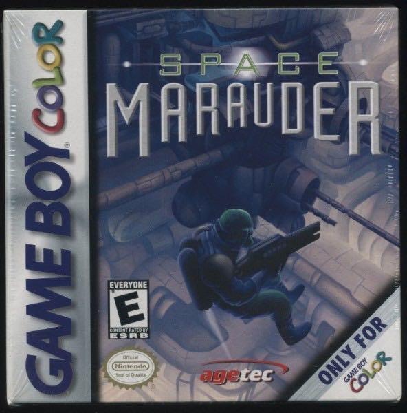 Space Marauder = Burai Senshin GBC - Game Boy Color cover