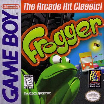 Frogger - Game Boy cover