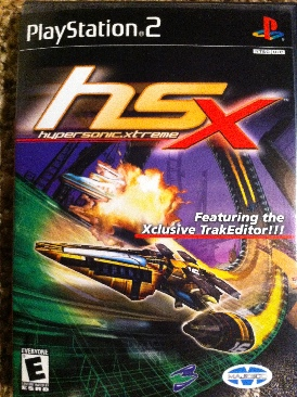 HSX Hypersonic.Extreme - PS2 cover