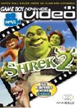 SHREK 2 - Game Boy Advance cover