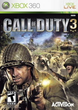 Call Of Duty 3 - Xbox Live cover