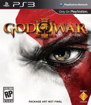 God of War III - PS3 cover
