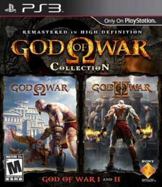 God of War Collection - PS3 cover