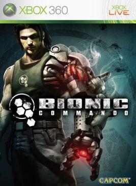 Bionic Commando - Xbox 360 cover