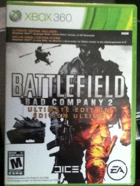 Battlefield Bad Company 2 - Xbox 360 cover
