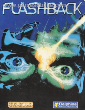 Flashback - Commodore Amiga cover