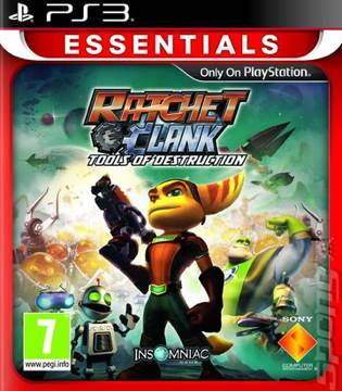 Ratchet and Clank: Tools of Destruction - PS3 cover