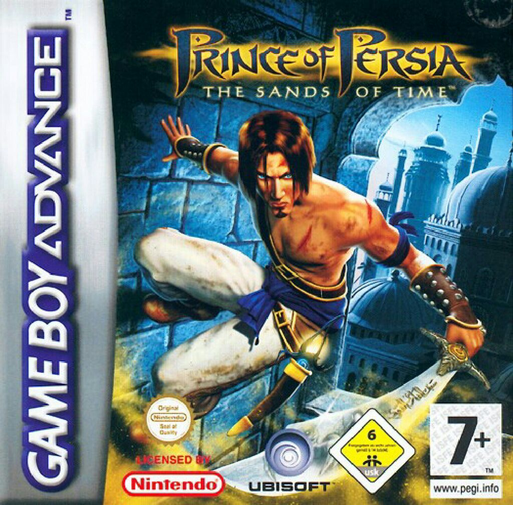 Prince of Persia - Game Boy Advance cover