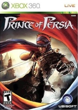 Prince of Persia - Xbox 360 cover