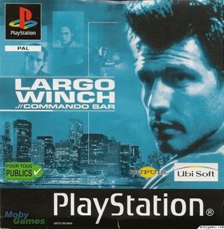Largo Winch : Commando Sar Sans Notice - Playstation cover