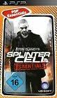 Splinter Cell - Essentials - PSP cover
