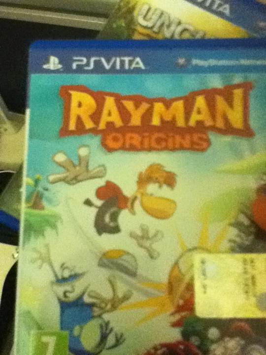 Rayman Origins - PS Vita cover