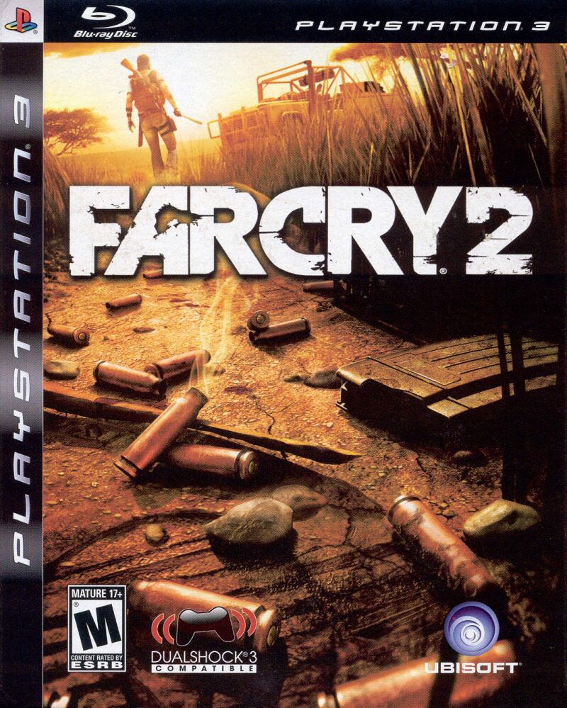 Far Cry 2 - PS3 cover