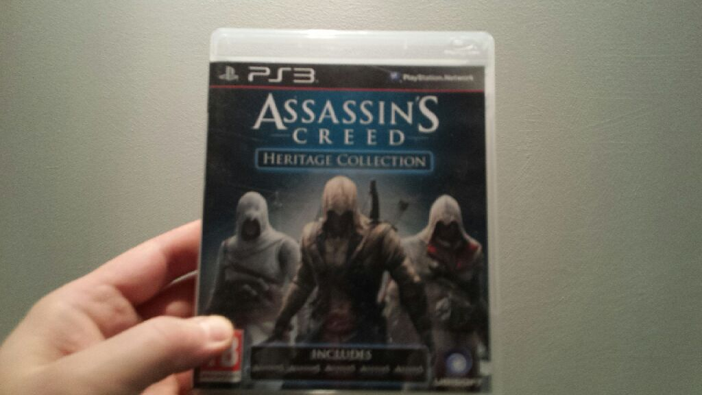 Assassins Creed: Heritage Collection - PS3 cover