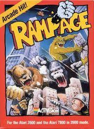 Rampage - Atari 2600 cover