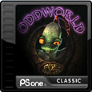 Oddworld: Abe's Oddysee  - Playstation cover