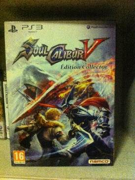 Soul Calibur V - PS3 cover