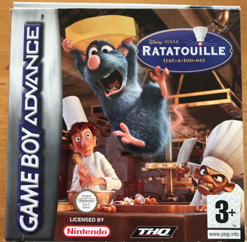 Ratatouille - Game Boy cover
