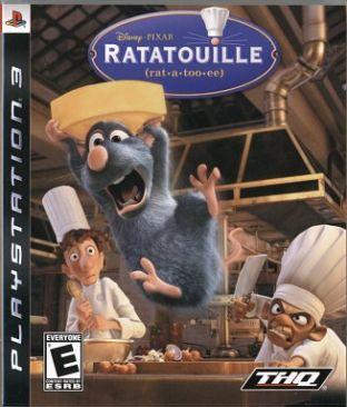 Ratatouille - PS3 cover