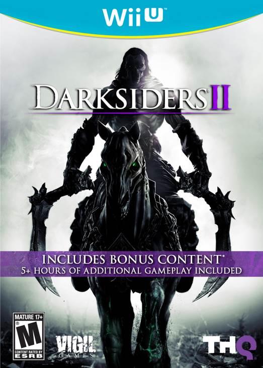 Darksiders 2 - Wii U cover