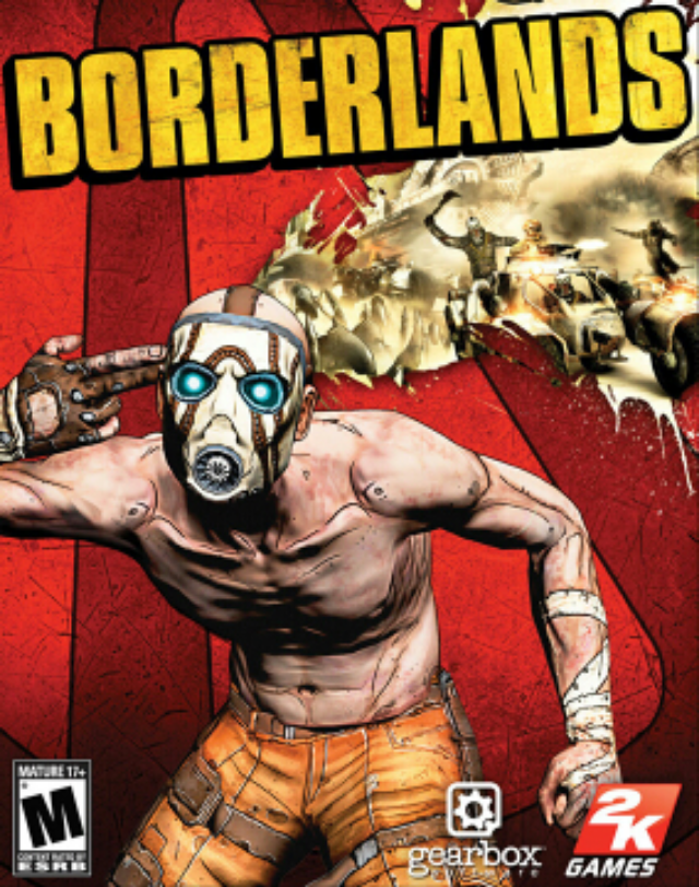 Borderlands - PC cover