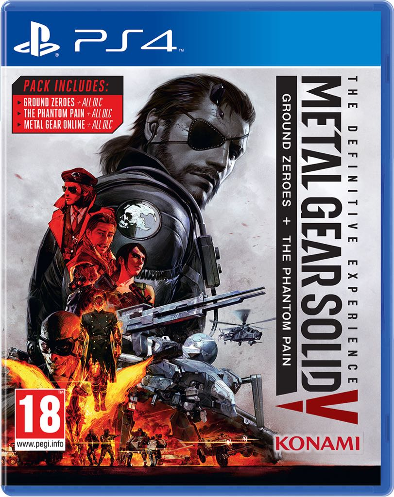 Metal Gear Solid 5 : The Definitive Experience - PS4 cover