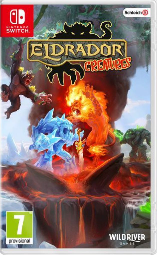 Eldrador Creatures - Switch cover