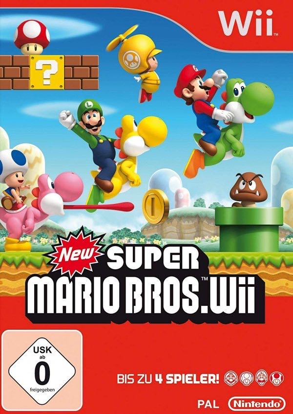 New Super Mario Bros. -  cover