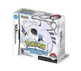 Pokemon SoulSilver - DSi cover
