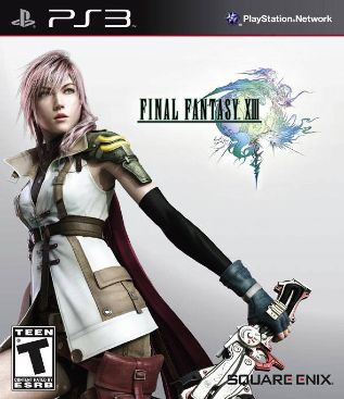 Final Fantasy XIII - PS3 cover