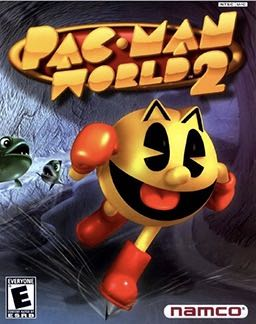 Pac-Man World 2 - PS2 cover