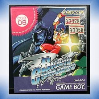 Bionic Commando - Game Boy cover
