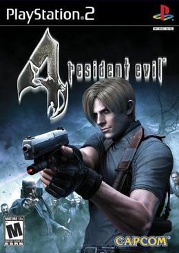 Biohazard 4  - PS2 cover