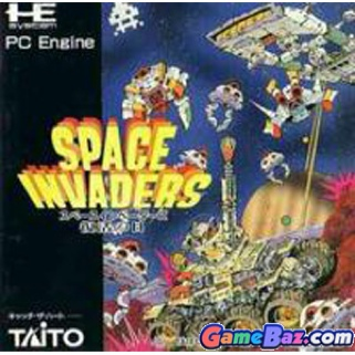 Space Invaders - TurboGrafx-16 cover