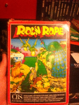 Roc'n Rope - Colecovision cover
