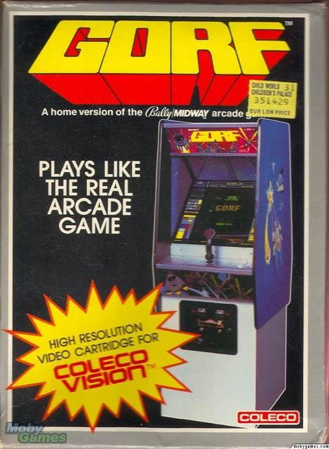 Atari 2600 - Colecovision cover