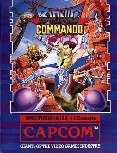 Bionic Commando - Sinclair ZX Spectrum cover