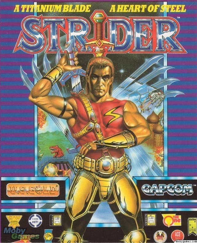 Strider - Commodore 64 cover