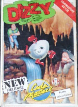 Dizzy - Commodore 64 cover