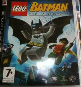 Lego Batman The Videogame - Xbox 360 cover