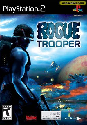 Rogue Trooper - PS2 cover
