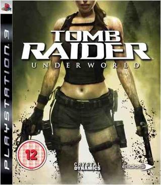 Tomb Raider: Underworld - PS3 cover